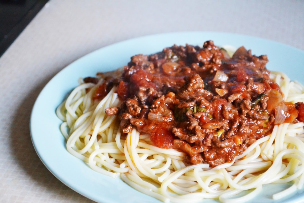 Image result for spaghetti bolognese recipe
