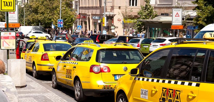 Image result for Prague taxi